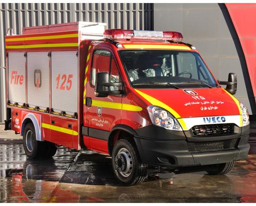 خودروهای سبک و پیشرو آتش نشانی سنگین کار