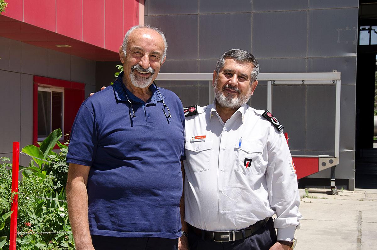 مدیر عامل آتش نشانی تهران