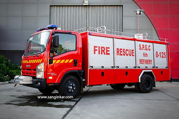 خودرو امداد و نجات ایسوزو