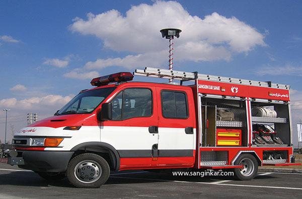 خودرو امداد و نجات پیشرو