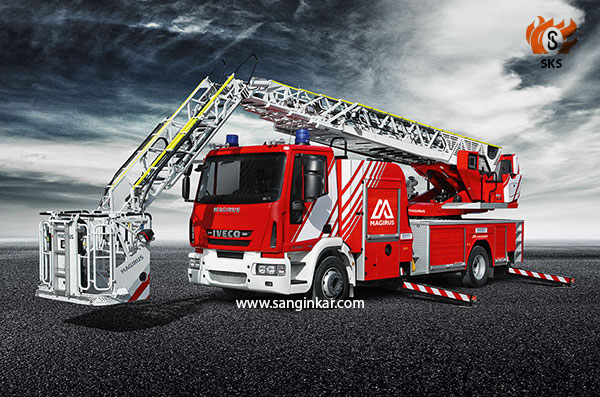 Magirus Turntable-ladder