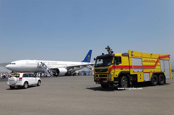خودرو آتش نشانی فرودگاهی