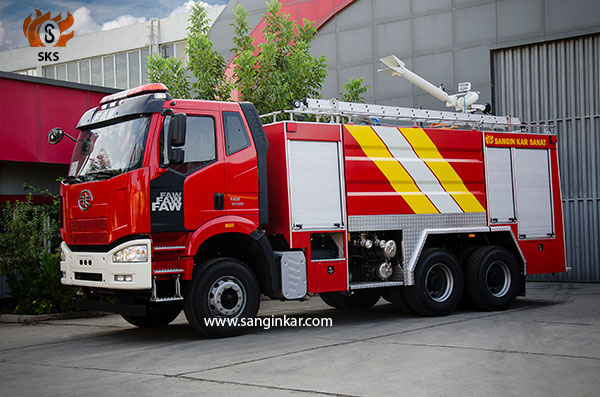 FAW Fire Truck