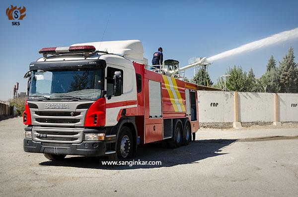fire truck scania