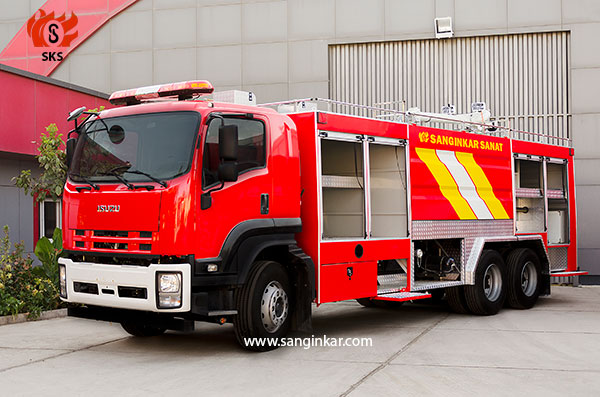 FIRE FIGHTING TRUCK- ISUZU