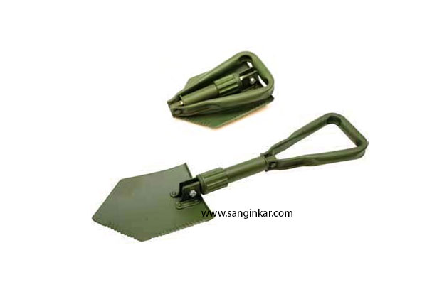 Folding-spade
